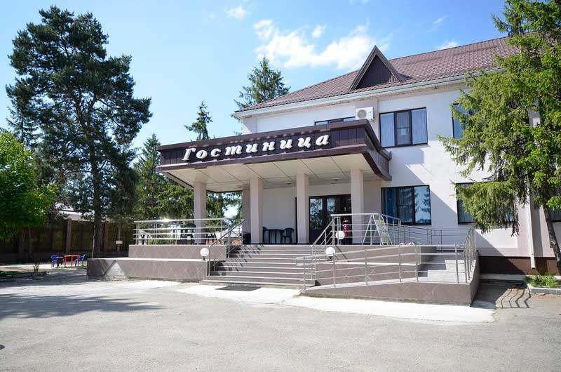 "Hotel complex ""Izumrud"", the village of Mostovskoy"